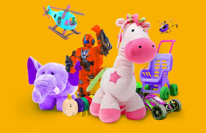 Сезонна пропозиція «Іграшки для дітей»